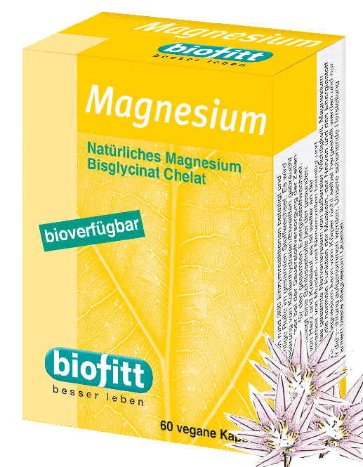 Magnesium Chelat Kapseln